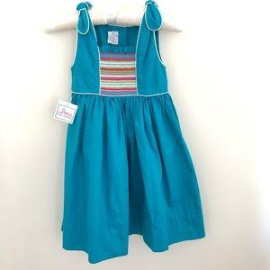 Other - Aqua Blue Smocked Dress